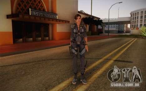 Jill Valentine from Resident Evil: Revelations para GTA San Andreas