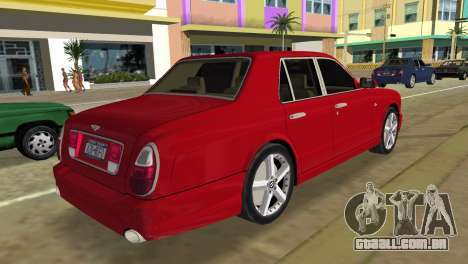 Bentley Arnage T 2005 para GTA Vice City deixou vista