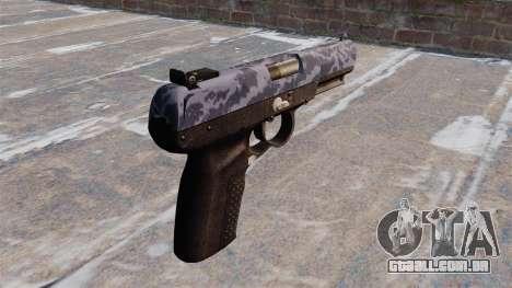 Arma FN Cinco-sete Azul Camo para GTA 4 segundo screenshot