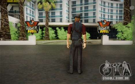 Ronan O'Connor из Assassinado: Alma Suspec para GTA San Andreas segunda tela