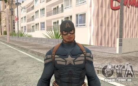 Captain America para GTA San Andreas terceira tela