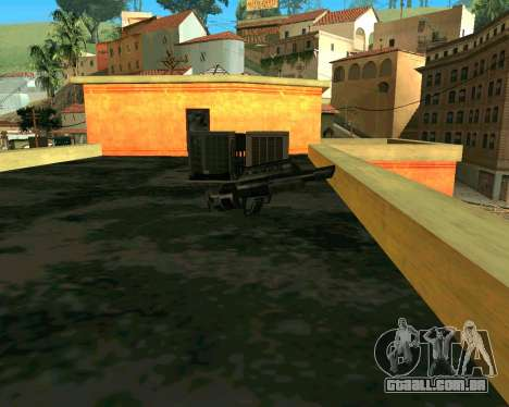 Jackhammer из Max Payne para GTA San Andreas terceira tela