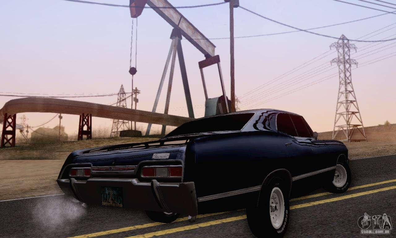 Chevrolet Impala 1967 Supernatural para GTA San Andreas