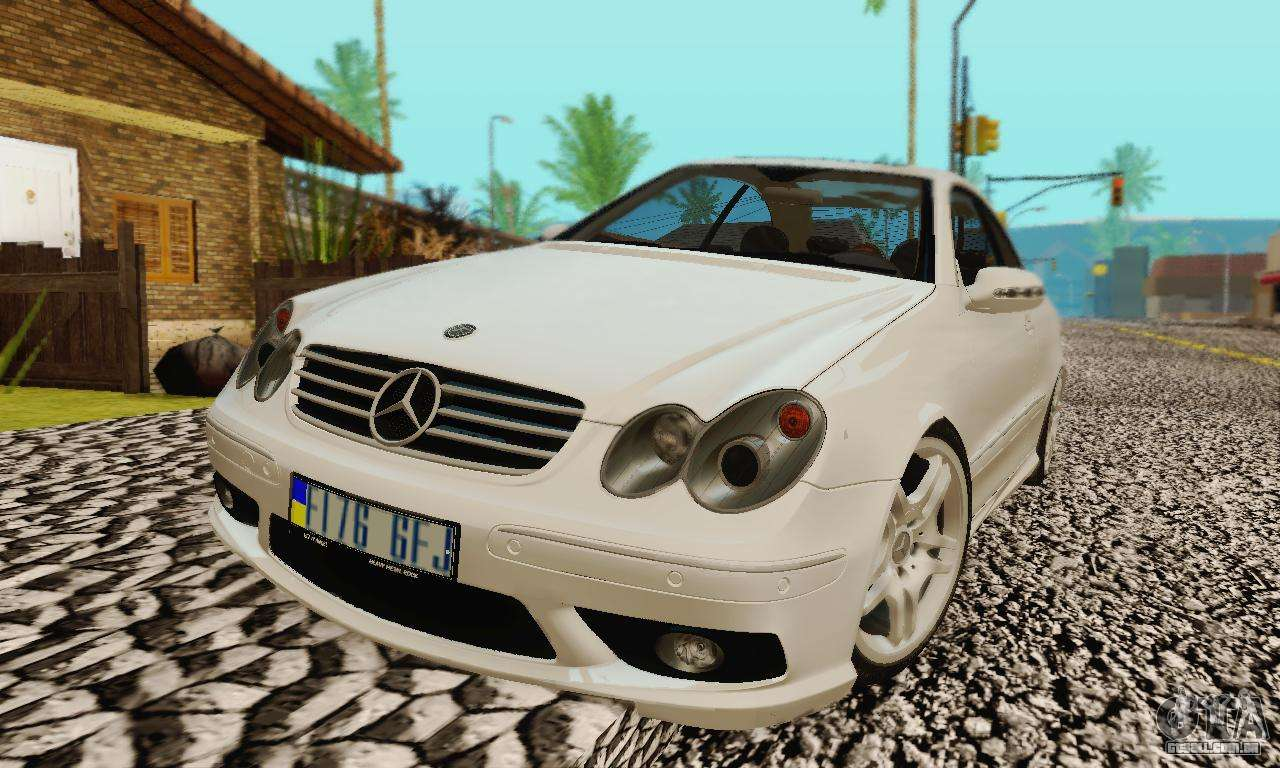 Mercedes benz clk55 amg 2003 para gta san andreas for Mercedes benz clk55 amg