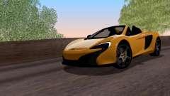McLaren 650S Spyder 2014 para GTA San Andreas