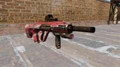 Máquina de Steyr AUG-A3 Vermelho urbana