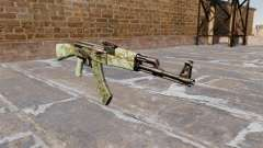 A AK-47 camo Verde