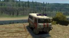 UAZ 39629 Ambulância para GTA 4
