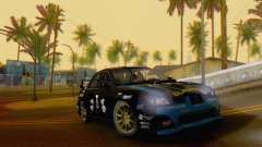 Subaru Impreza WRC STI Black Metal Rally