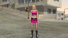 Pink Dressed Girl para GTA San Andreas