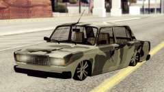 VAZ 2107 em camuflagem para GTA San Andreas