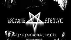 Black Metal Menu (tela cheia)