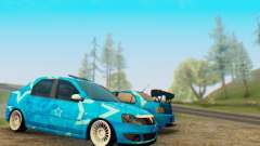 Dacia Logan Blue Star para GTA San Andreas