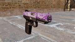 Arma FN Cinco sete Roxo Camo