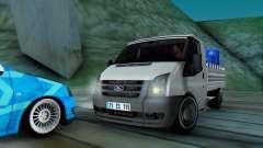 Ford Transit Pikap para GTA San Andreas
