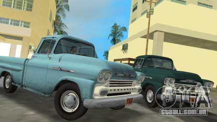 Chevrolet Apache Fleetside 1958 para GTA Vice City