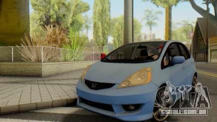 Honda Fit Stock 2009 para GTA San Andreas