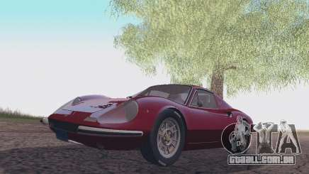 Ferrari Dino 246 GTS Coupe para GTA San Andreas