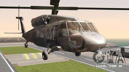 UH-60 Blackhawk para GTA San Andreas