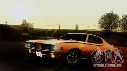 Pontiac GTO The Judge Hardtop Coupe 1969 para GTA San Andreas