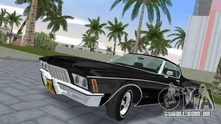 Buick Riviera 1972 Boattail para GTA Vice City