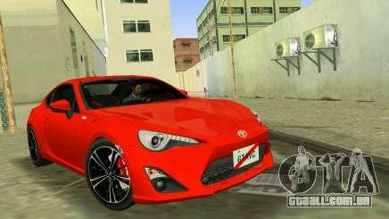 Toyota GT86 para GTA Vice City