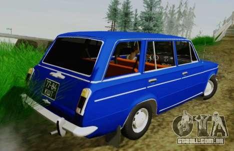 VAZ 21032 para GTA San Andreas traseira esquerda vista