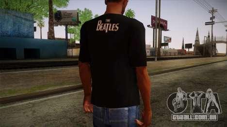 The Beatles Let It Be T-Shirt para GTA San Andreas segunda tela