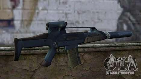 XM8 Compact Blue para GTA San Andreas segunda tela