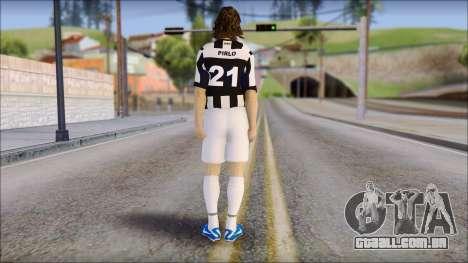 Andrea Pirlo para GTA San Andreas segunda tela