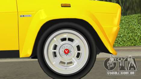 Fiat 131 Abarth Rally 1976 para GTA Vice City vista traseira
