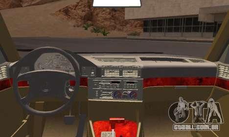 BMW 535i Stock para GTA San Andreas traseira esquerda vista