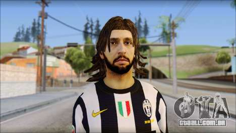 Andrea Pirlo para GTA San Andreas terceira tela