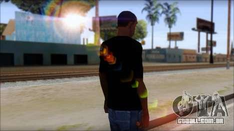 Sepultura Logo T-Shirt para GTA San Andreas segunda tela