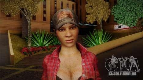 Misty from Call of Duty: Black Ops para GTA San Andreas terceira tela