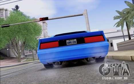 Buffalo Drift Style para GTA San Andreas vista direita