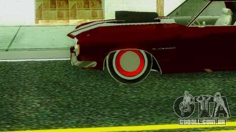 ГАЗ A Estrada SS v.2 para GTA San Andreas traseira esquerda vista