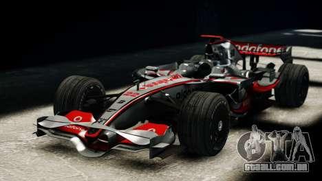 McLaren MP4-23 F1 Driving Style Anim para GTA 4