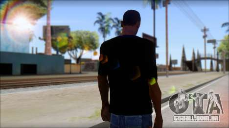 Afends T-Shirt para GTA San Andreas segunda tela