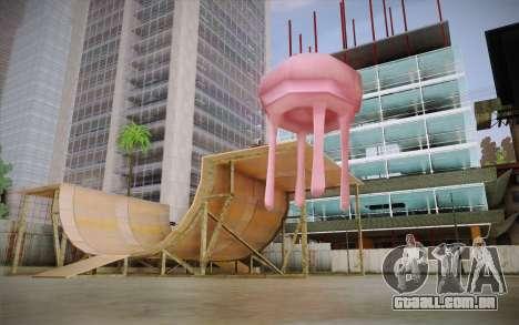 Medusa (Bob Esponja) para GTA San Andreas segunda tela