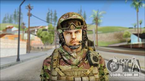 Forest SAS from Soldier Front 2 para GTA San Andreas terceira tela