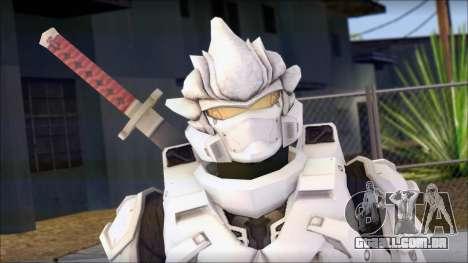 Halo 3 Hayabusa Armor para GTA San Andreas terceira tela