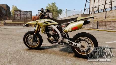 Yamaha YZF-450 v1.16 para GTA 4 esquerda vista
