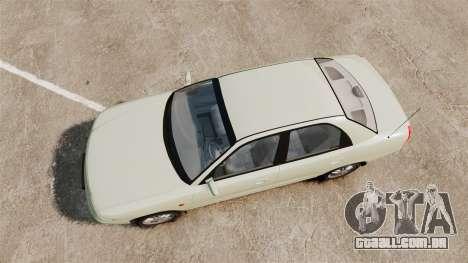 Daewoo Nubira I Sedan CDX PL 1997 para GTA 4 vista direita