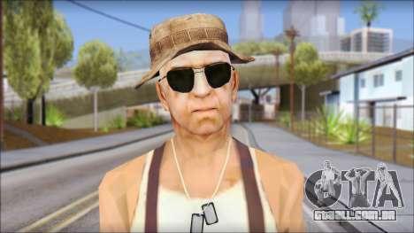 Teniente Armstrong para GTA San Andreas terceira tela