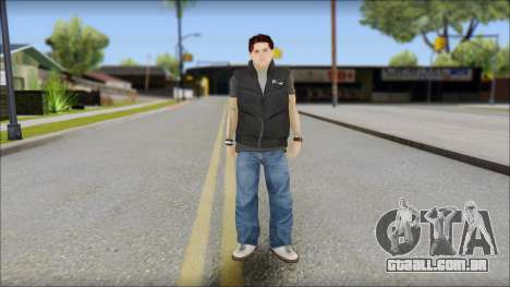 Paul from Good Charlotte para GTA San Andreas