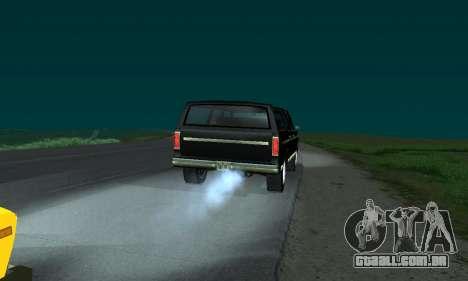 New FBI Rancher para GTA San Andreas esquerda vista