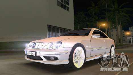 Mercedes-Benz CL65 AMG para GTA Vice City
