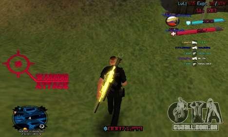 C-HUD by Accord para GTA San Andreas terceira tela