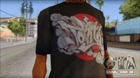 New Ecko T-Shirt para GTA San Andreas terceira tela